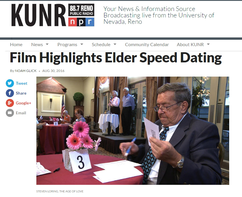 Npr sponsored speed dating