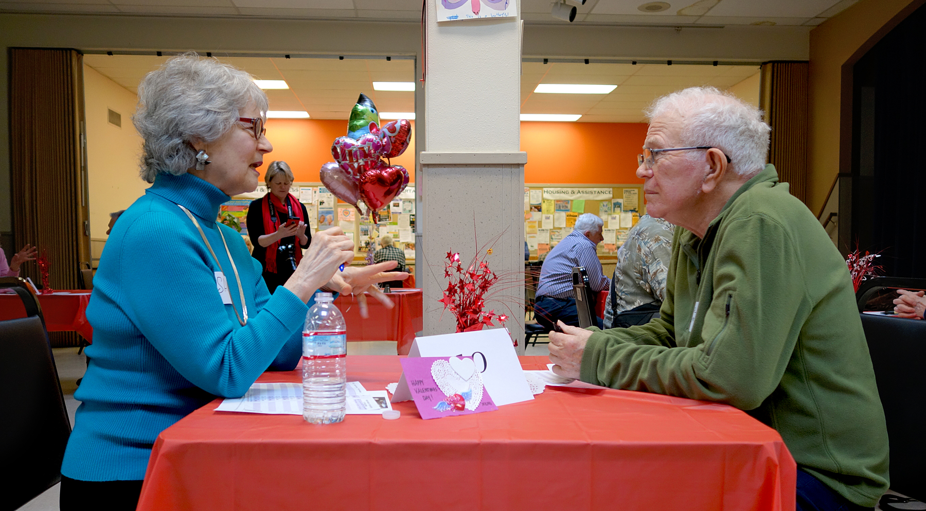 Seniors Speed-Date In Age Of Love NPR