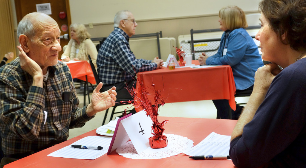 Seniors Look for Love Through Speed Dating