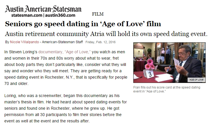 how to hold speed dating events